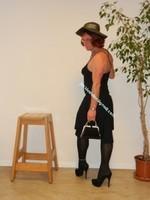 robe noir Laula paris 60