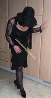 robe noir decolete 125