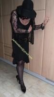 robe noir decolete 127