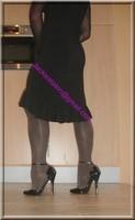robe noir frou frou 7
