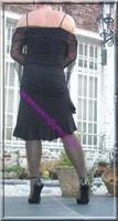 robe noir frou frou 2