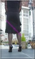 robe noir frou frou 3