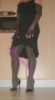 robe noir frou frou 12