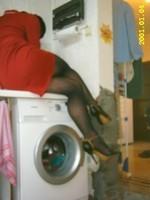 robe rouge collant resile escarpins dore 11