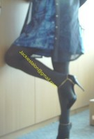 robe bleu soi a motif 19