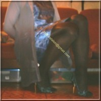robe en soie bleu 2