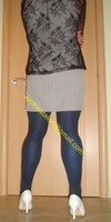 robe grise a careau 12