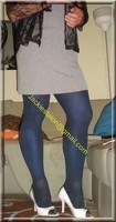 robe grise a careau 11