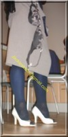 robe grise a careau 24