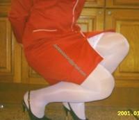 robe rouge bas blanc 11