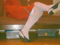 robe rouge bas blanc 14