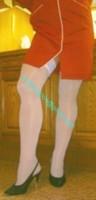 robe rouge bas blanc 6