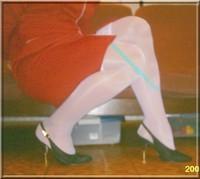 robe rouge bas blanc 15