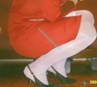 robe rouge bas blanc 12