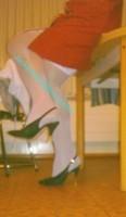 robe rouge bas blanc 23