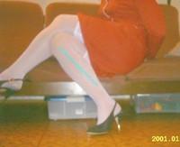 robe rouge bas blanc 16