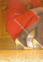 robe rouge bas noir 10
