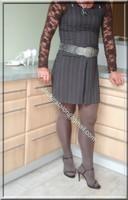 robe marron ligne 1
