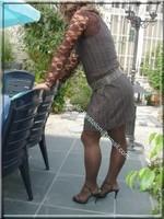 robe marron ligne 12