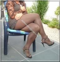robe marron ligne 18