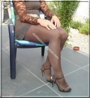 robe marron ligne 19