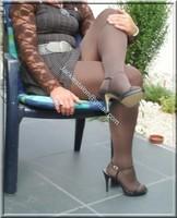 robe marron ligne 22