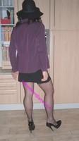 courte jupe noir avec top noir 14