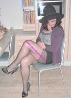 jupe courte noir top noir 24 visage
