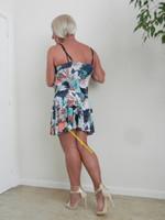 robe dessin multi couleur 9