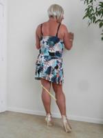 robe dessin multi couleur 2