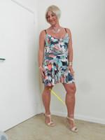 robe dessin multi couleur 8