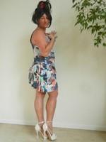 robe dessin plusieurs couleurs 5