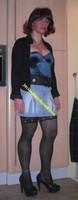 jupette jeans corset bleu 6