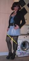 jupette jeans corset bleu 1