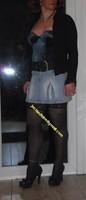 jupette jeans corset bleu 13