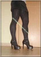 minijupe velours noir 1