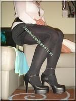 minijupe velours noir 10