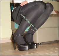 minijupe velours noir 2