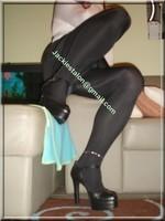 minijupe velours noir 13