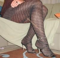 robe marron ligne collants dessin 17