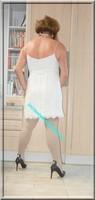 robe blanche Pimkie