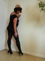 robe noir Morgan Dentelle 10