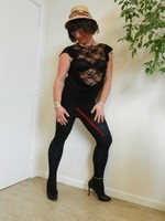 robe noir Morgan Dentelle 16