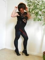 robe noir Morgan Dentelle 12