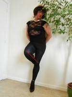 robe noir Morgan Dentelle 14