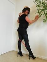 robe noir Morgan Dentelle 15