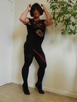 robe noir Morgan Dentelle 18