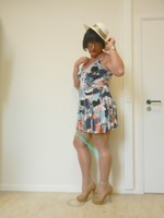 robe a dessin plusieurs coloris 39