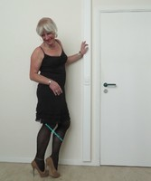 Robe noir Claudia Strater 5