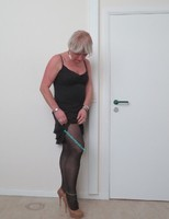 Robe noir Claudia Strater 9